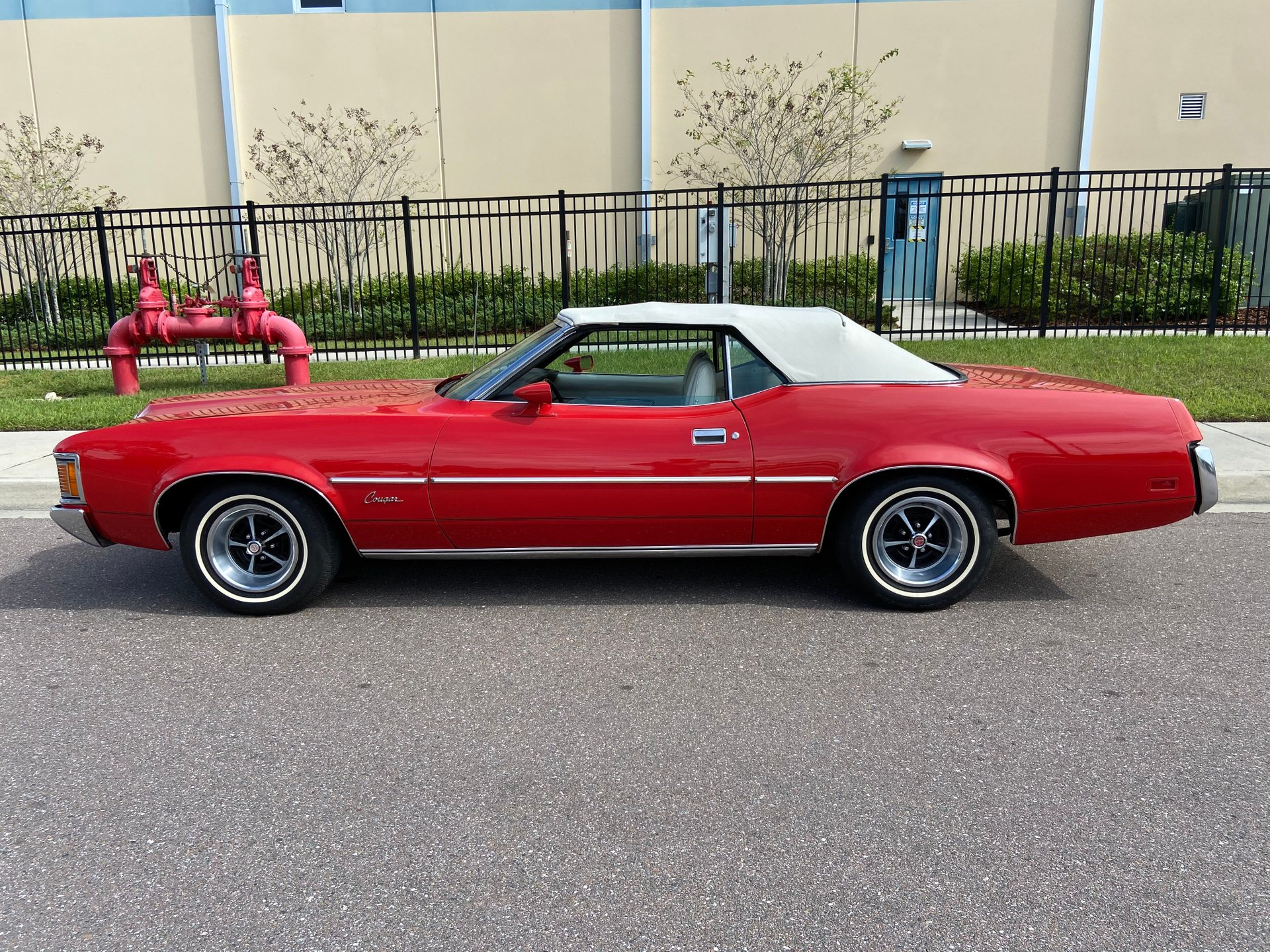 1972 mercury cougar xr7 convertible