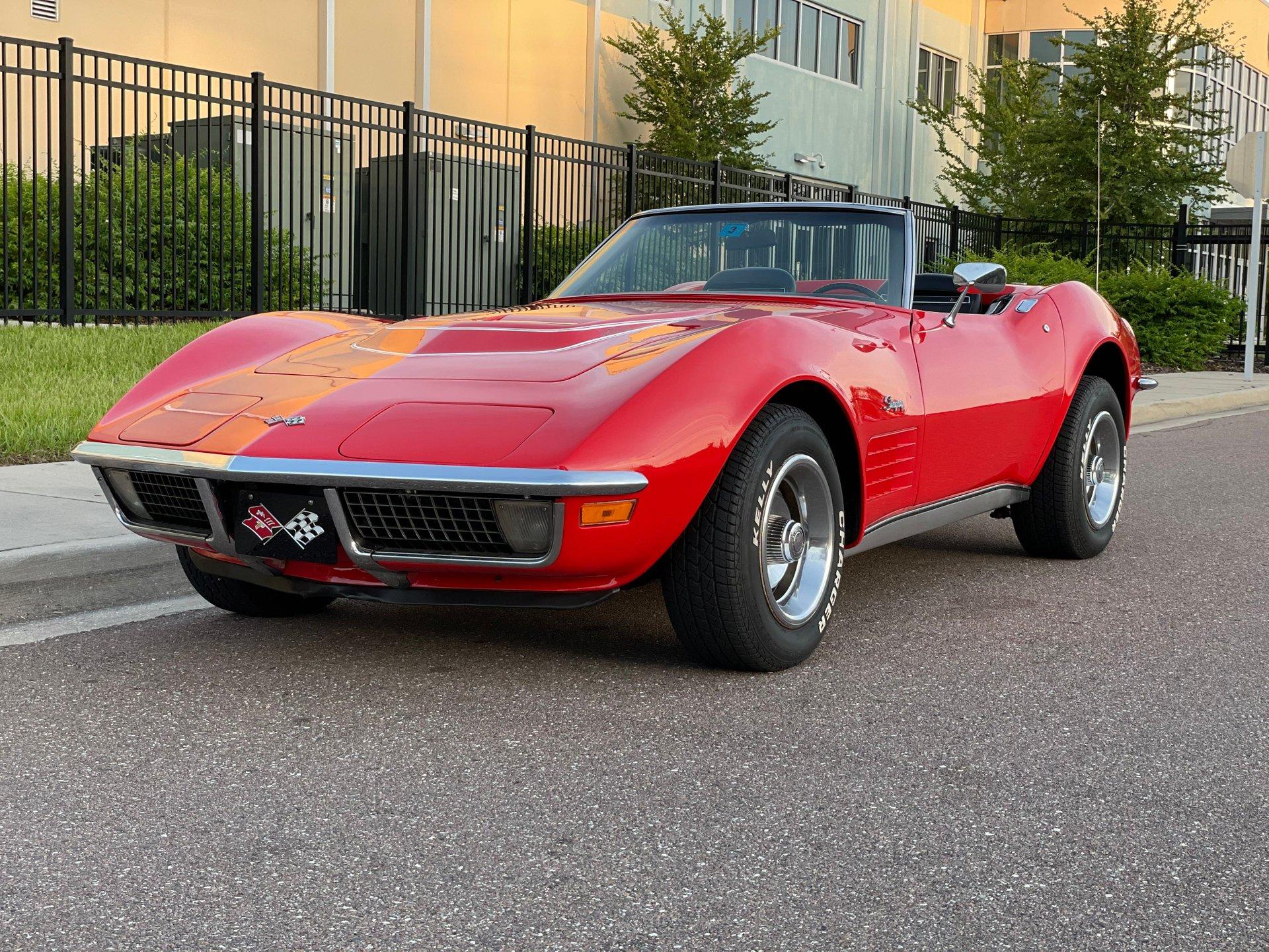 1970 chevrolet corvette lt1 convertible