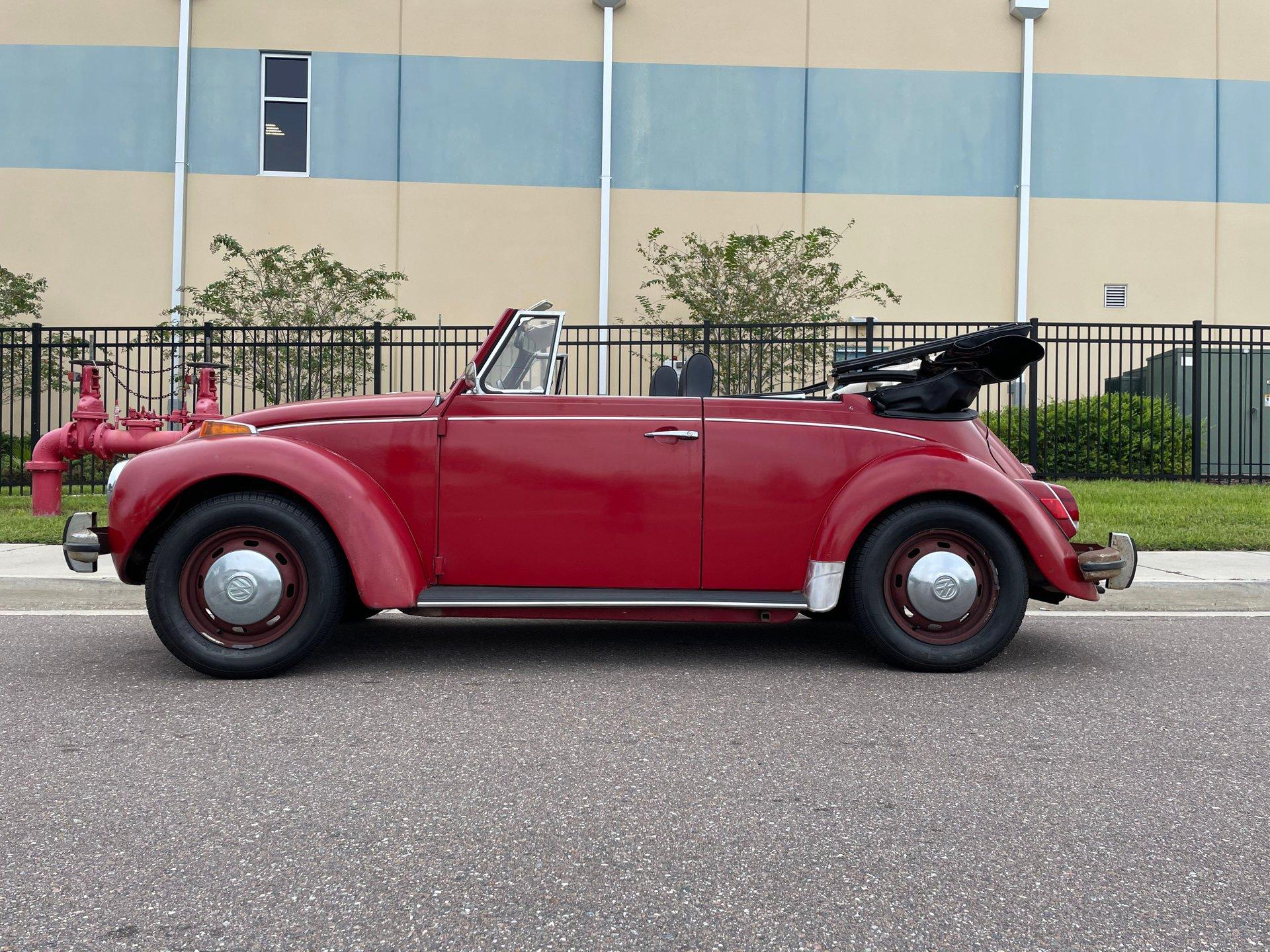 1971 volkswagen beetle convertible semi auto