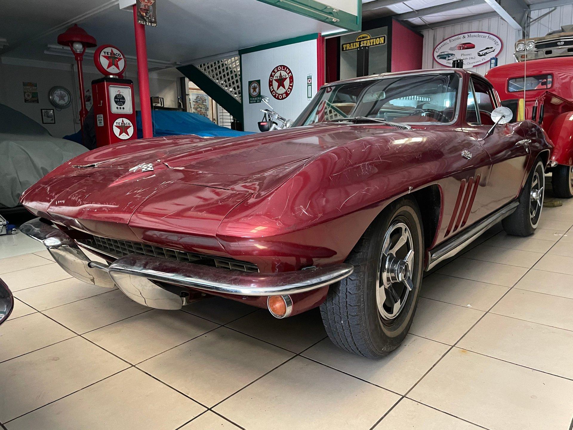 1965 chevrolet corvette coupe