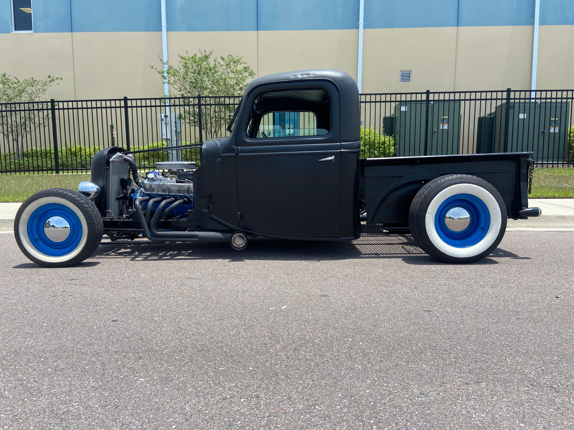 1937 ford 3 window rat rod pick up