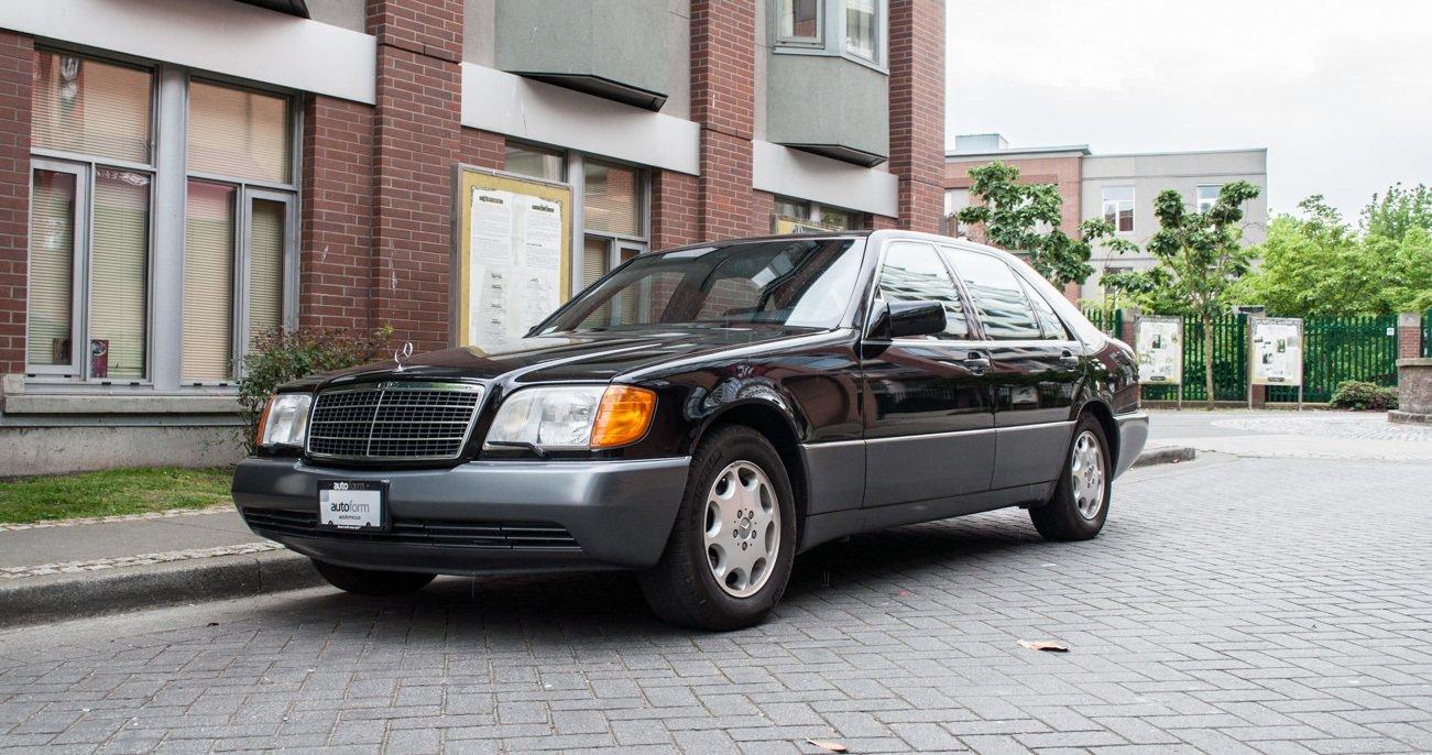 1993 mercedes benz 500sel
