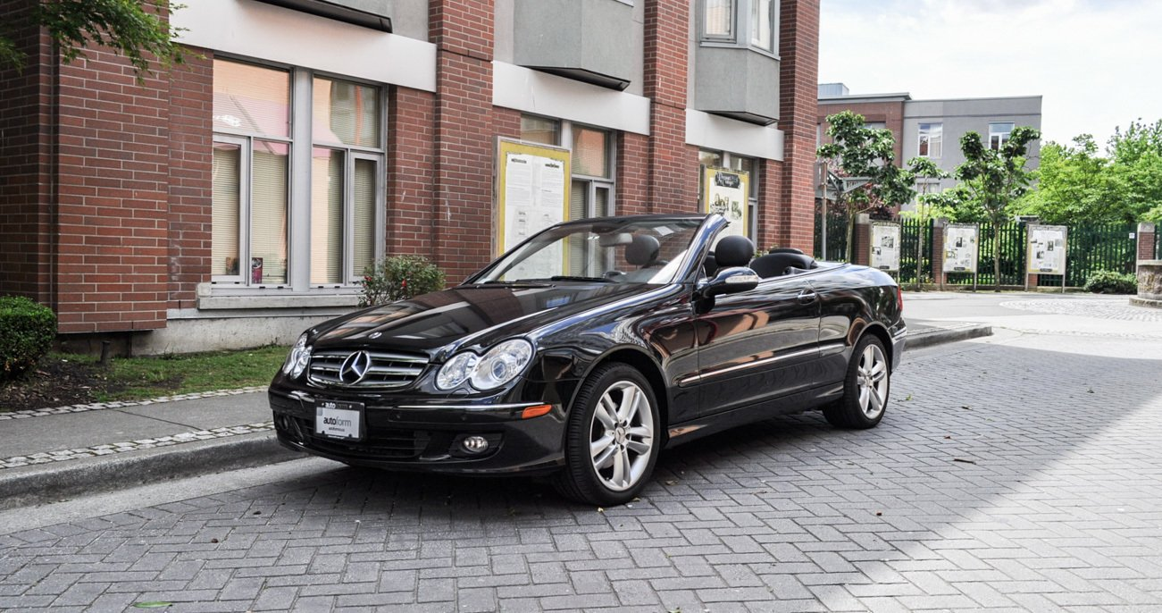 2007 mercedes benz clk350