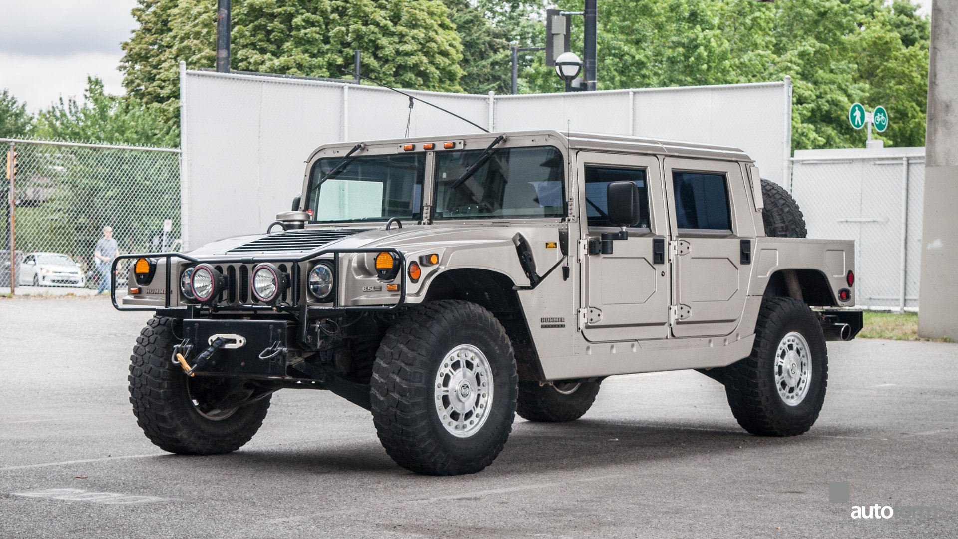 2000 am general hummer 4 passenger hard top