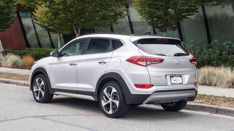 2017 Hyundai Tucson Limited 1.6T AWD