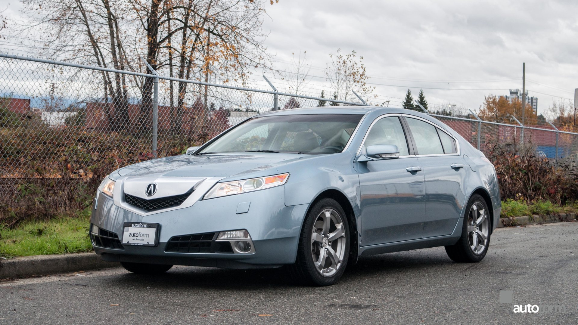 2009 acura tl awd tech package