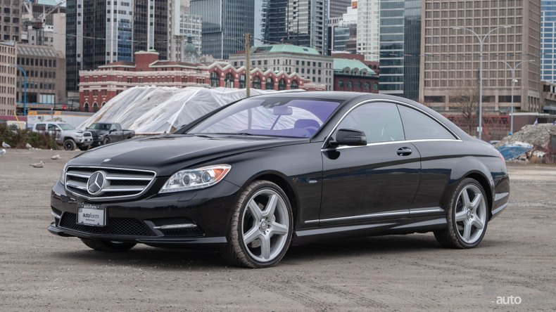 2012 Mercedes Benz CL550