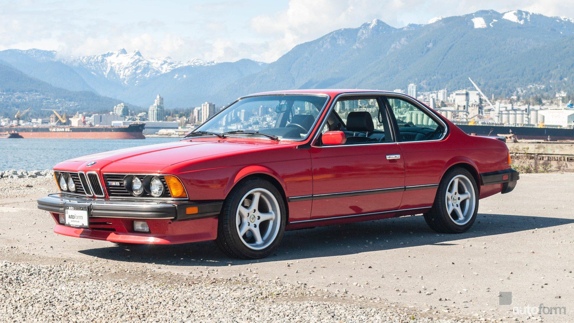 1987 bmw 6 series 2dr sedan m6