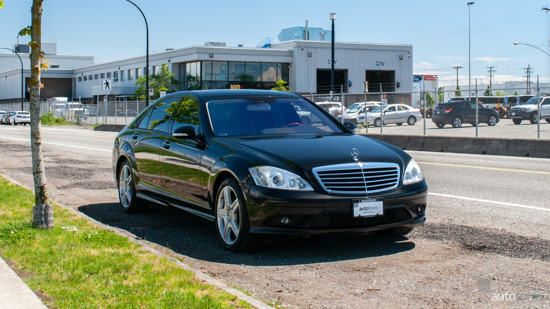2007 mercedes benz s class s550 4matic lwb amg sport package