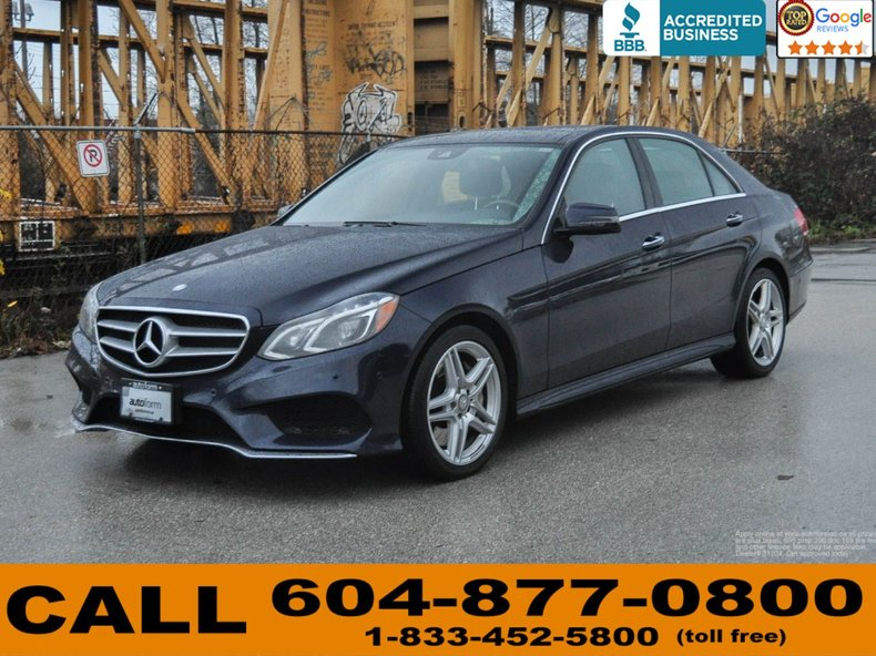 2014 Mercedes Benz E550 4Matic AMG Package For Sale