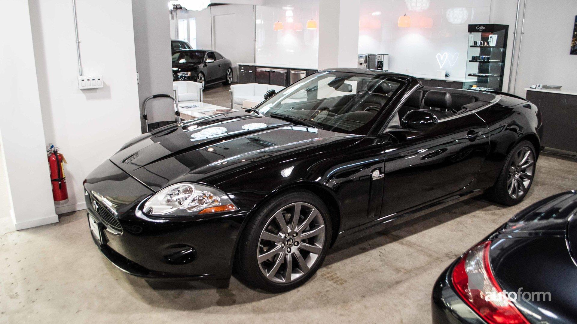 2008 jaguar xk 2dr conv