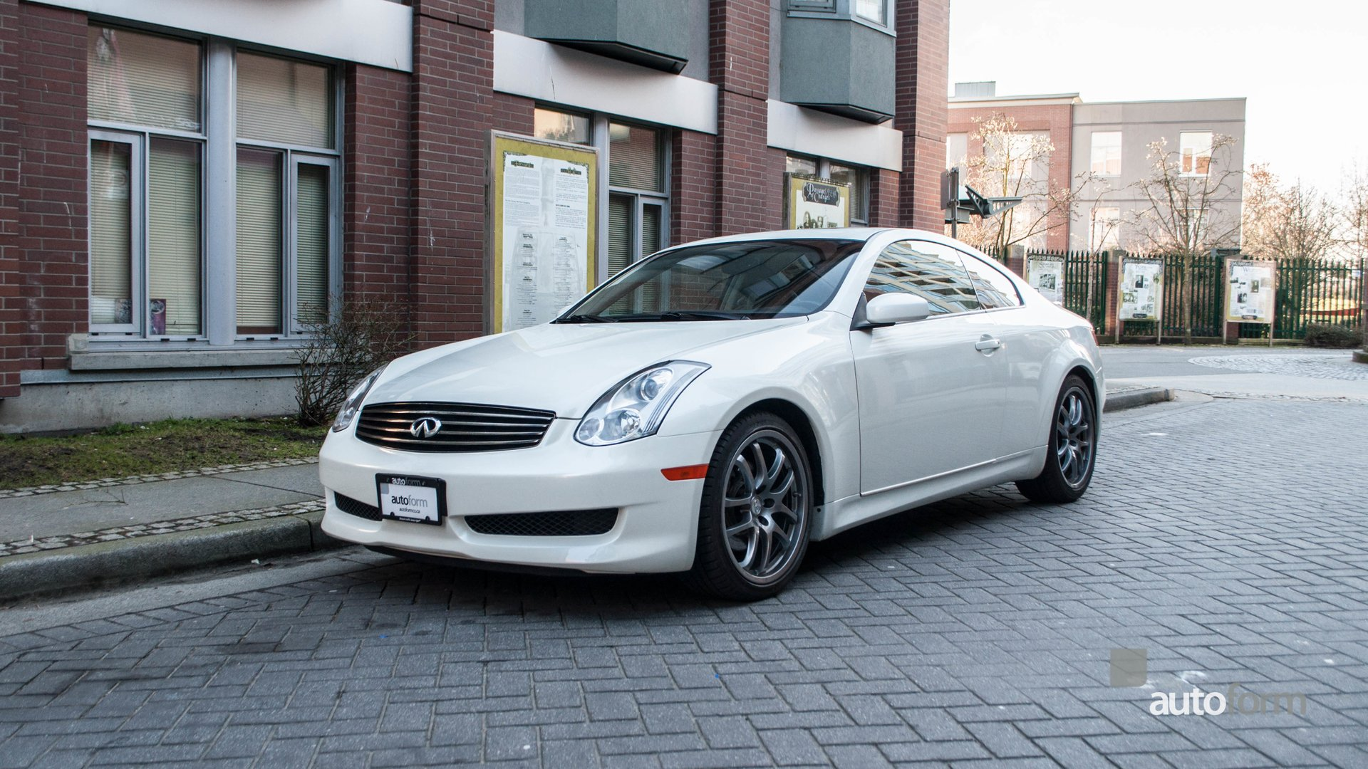 2007 infiniti g35 coupe 2dr manual