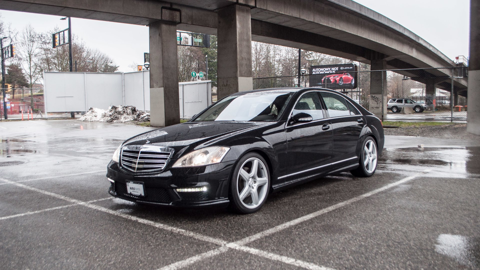 2007 mercedes benz s550 amg package