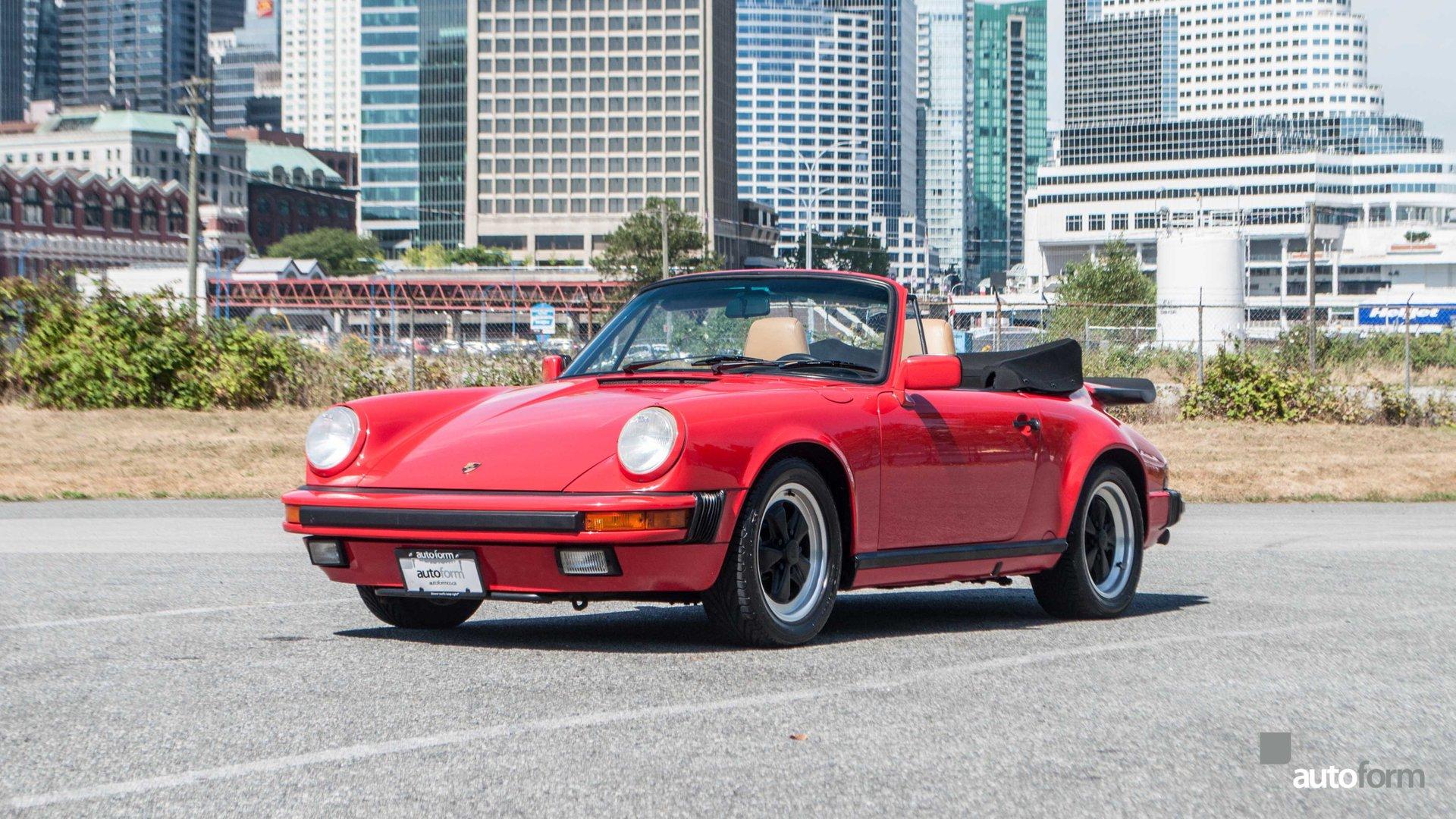 1989 porsche 911 carrera 2dr cabriolet