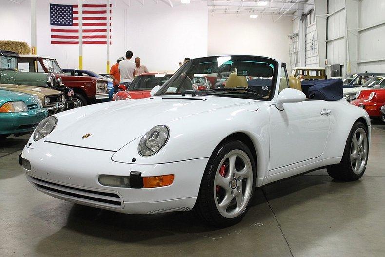1998 porsche 911 993 carrera