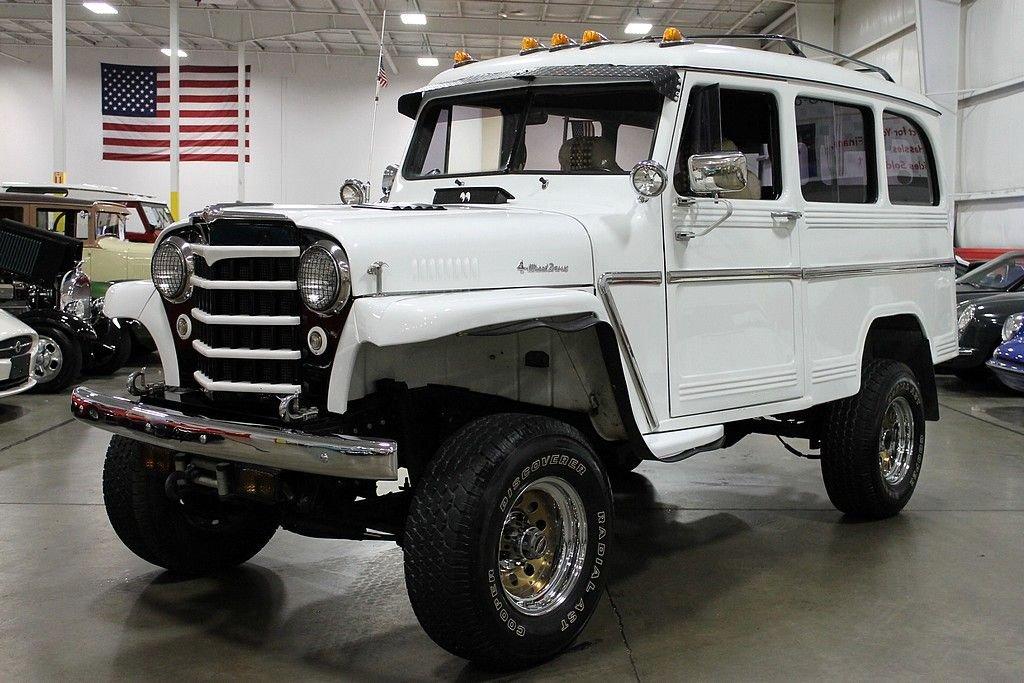 1953 willys jeep wagon