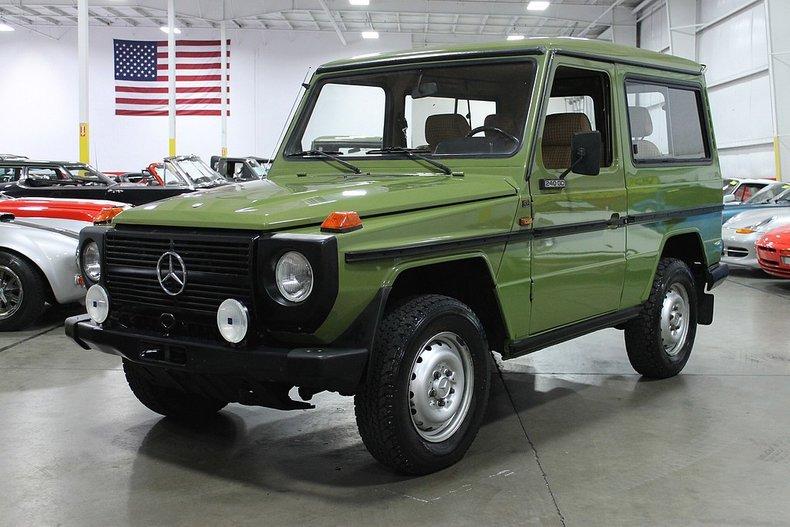 1981 mercedes benz 240gd gelandewagen
