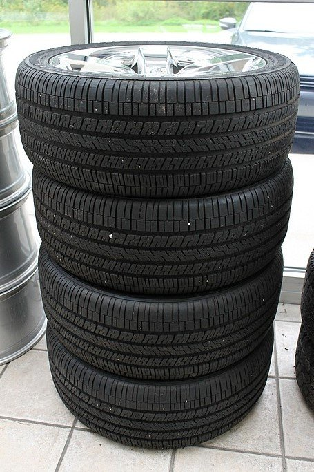 Good year eagle rs a tires and dodge rims 20 245 45r