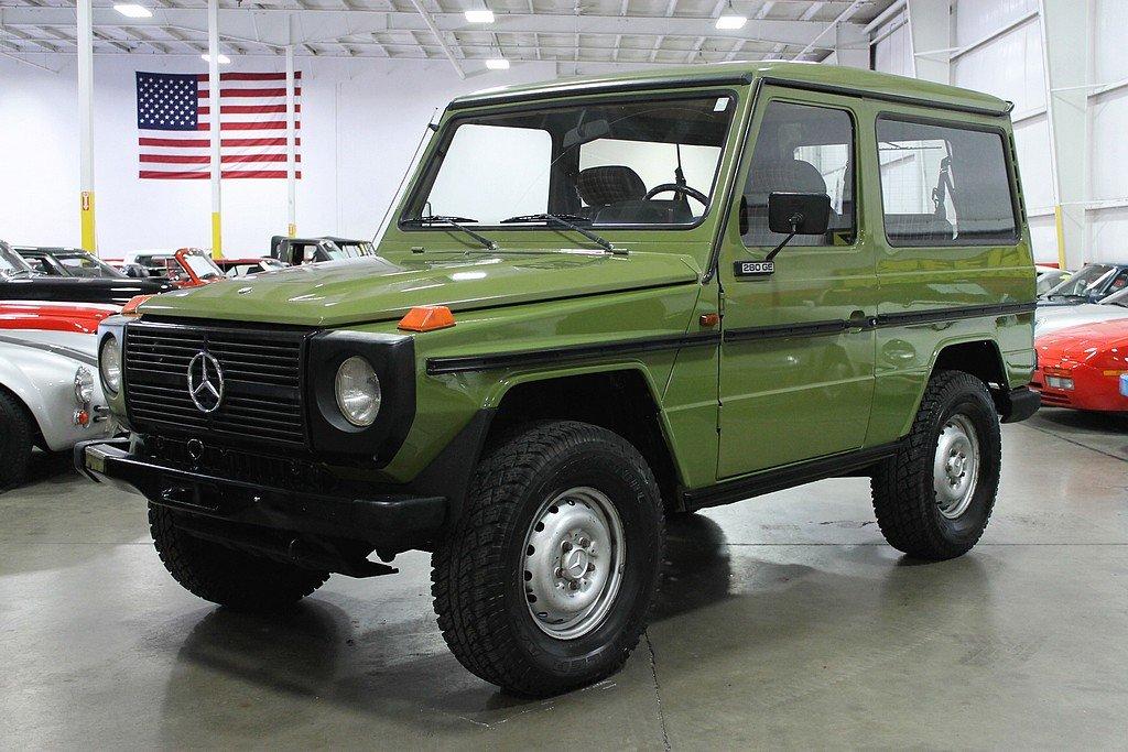 1981 mercedes benz 280ge g wagon