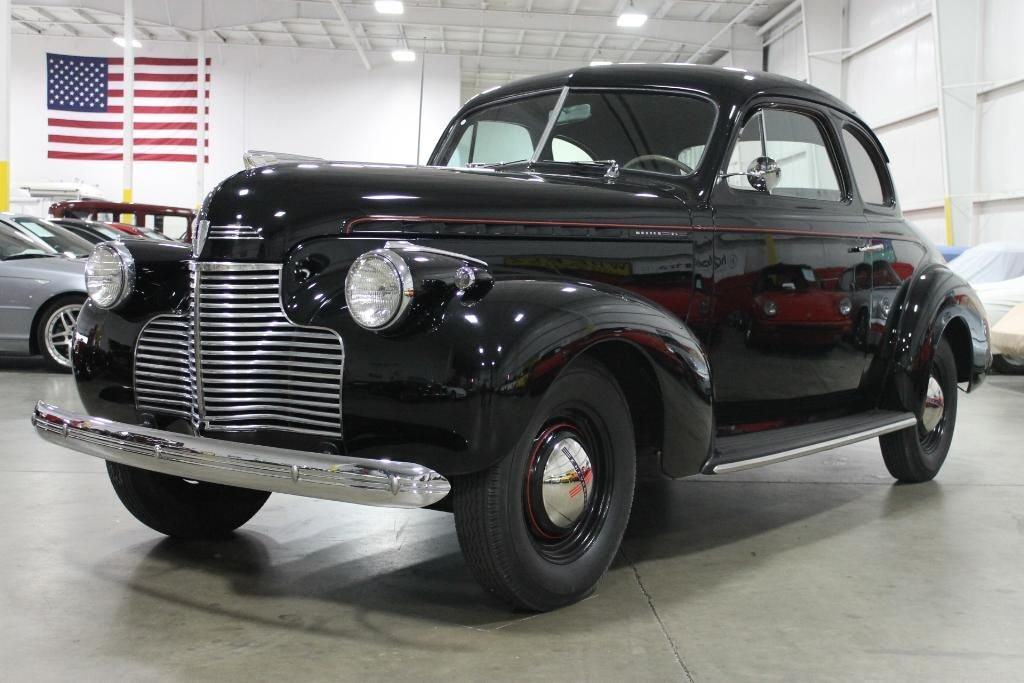 1940 chevrolet business coupe master 85