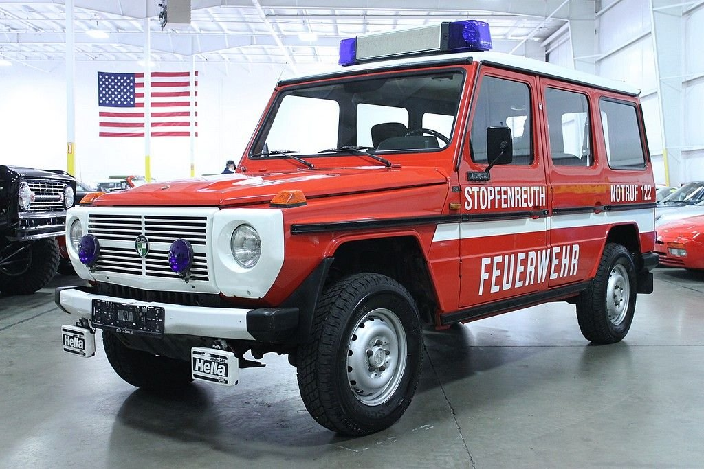 1980 mercedes benz puch 230 g fire command