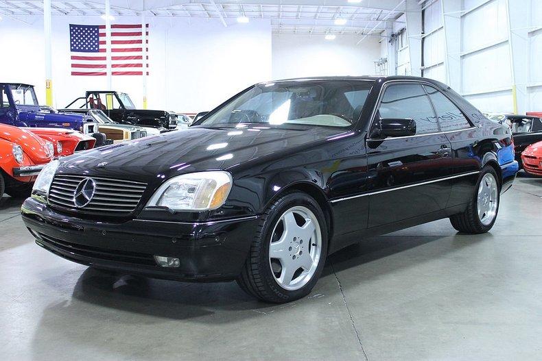 1999 mercedes benz cl600