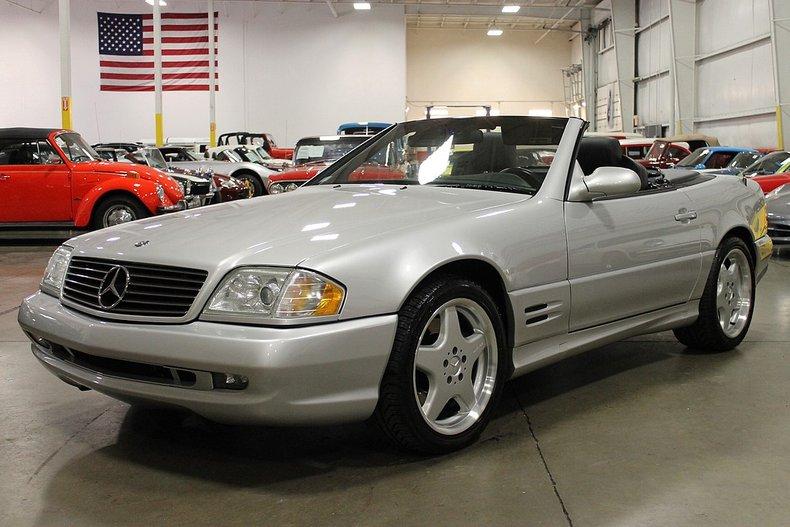 2002 mercedes benz sl500