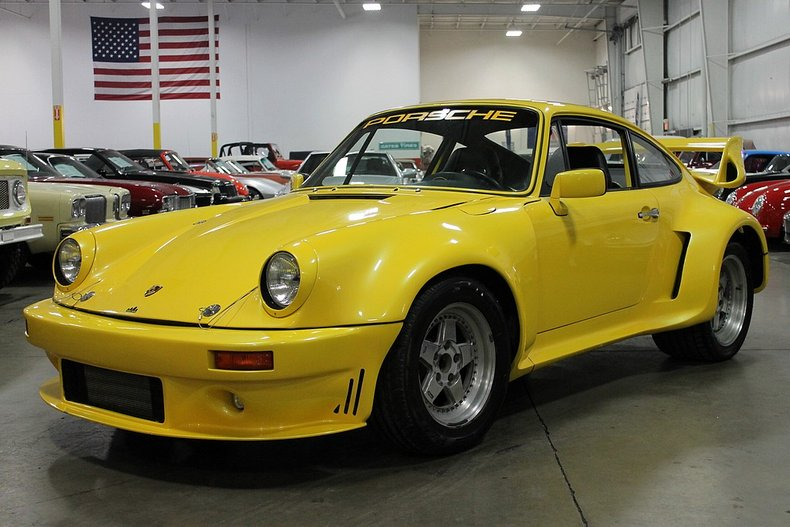 1974 porsche 911 rsr iroc tribute