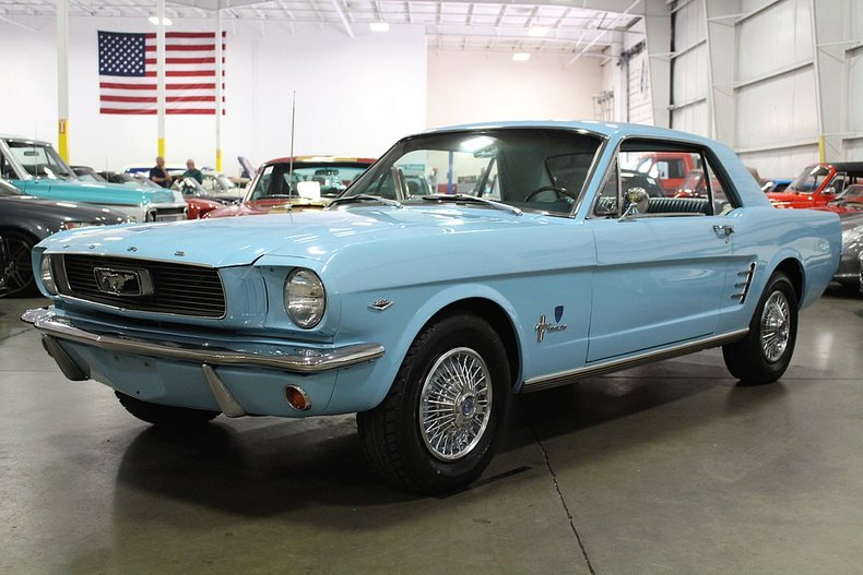 1966 ford mustang high country special