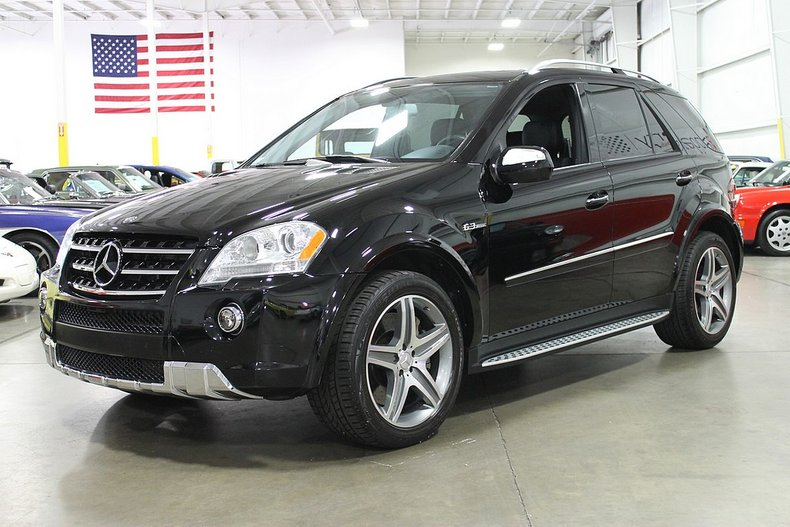 2009 mercedes benz ml63 amg