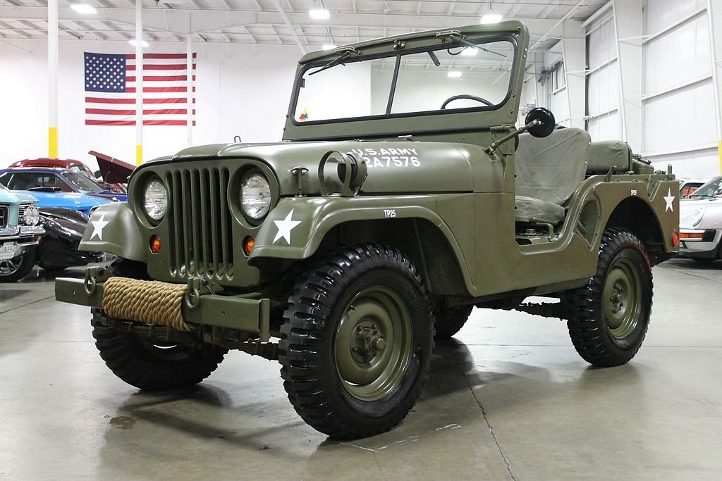1955 willys military jeep