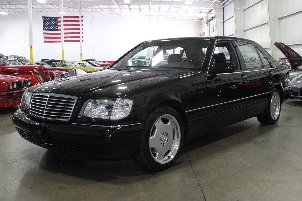 1999 mercedes benz s600