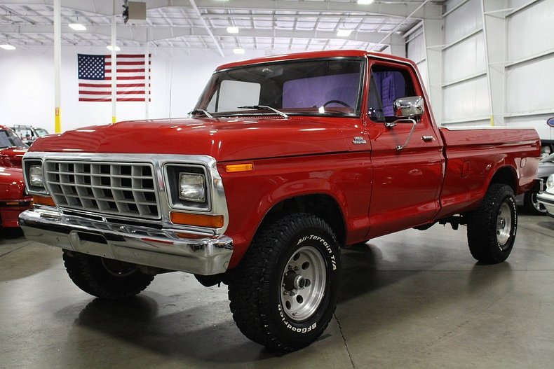 Sale 1979 Ford Lifted: Awesome Black Lifted F 150 Shortbed