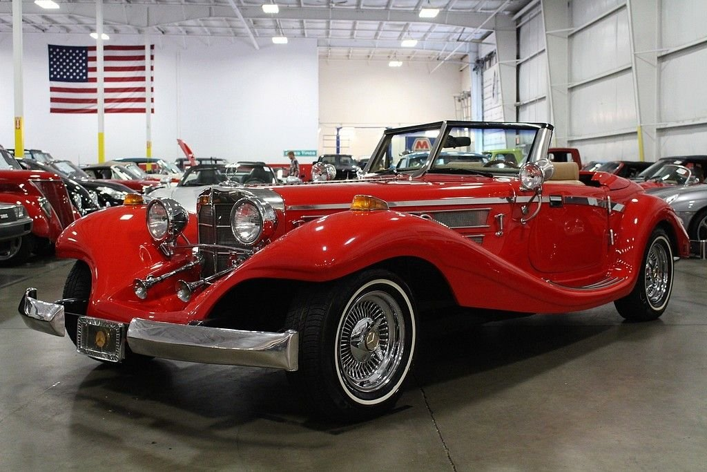 1934 mercedes benz 500 k replica