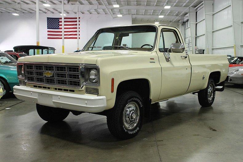 1978 chevrolet 1 2 ton pickup