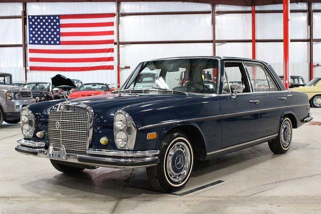 1968 mercedes benz 280s