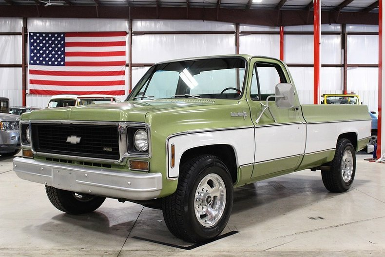 1973 Chevy Truck >> 1973 Chevrolet C20 Gr Auto Gallery