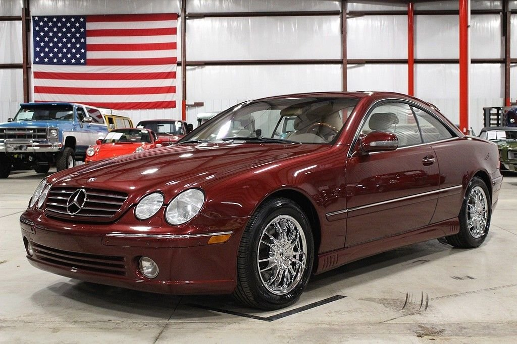 2000 mercedes benz cl500