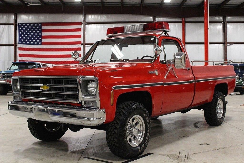 1979 chevrolet k 20 fire truck