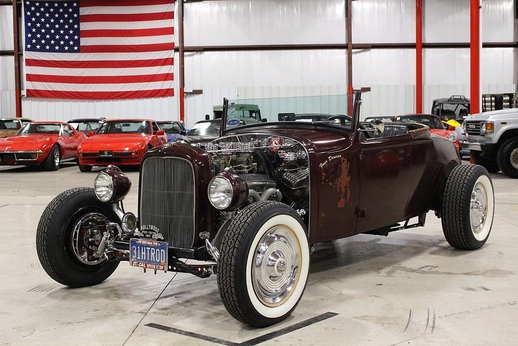 1932 ford model a deluxe roadster