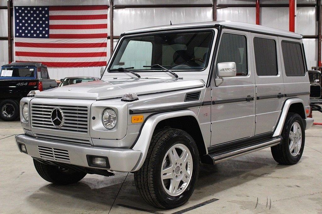 2004 mercedes benz g500