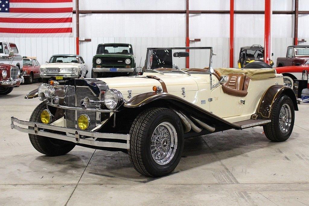 1929 mercedes benz ssk replica