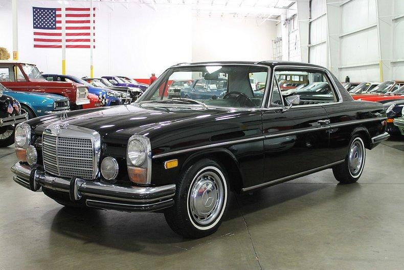 1972 mercedes benz 250c
