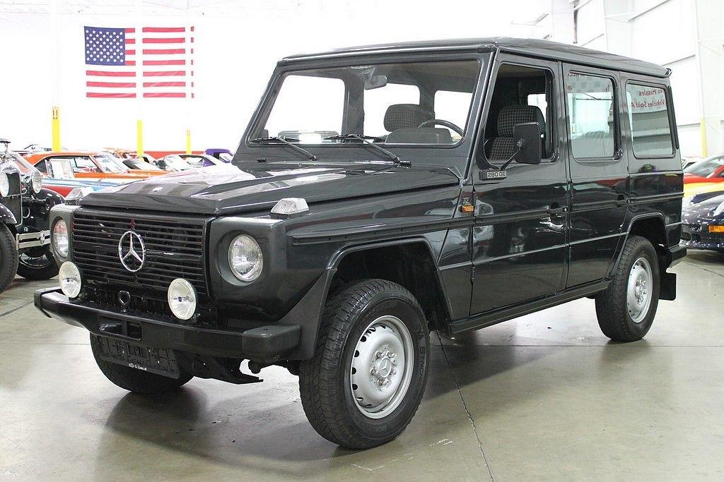 1985 mercedes benz 280ge g wagon