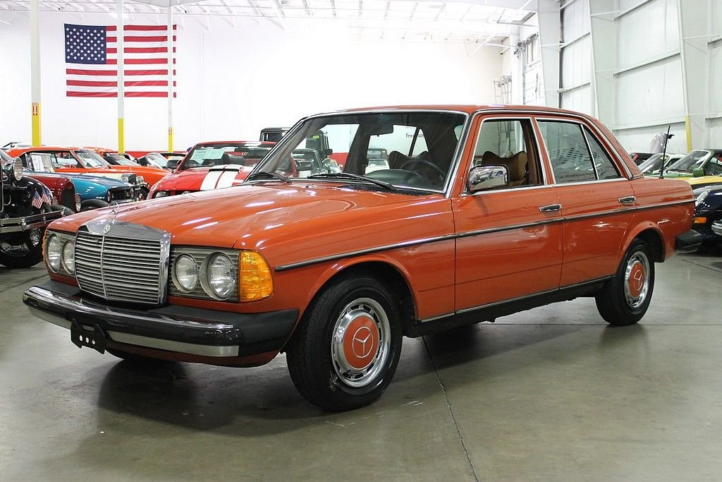 1979 mercedes benz 240d