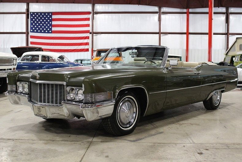 1970 Cadillac DeVille | GR Auto Gallery