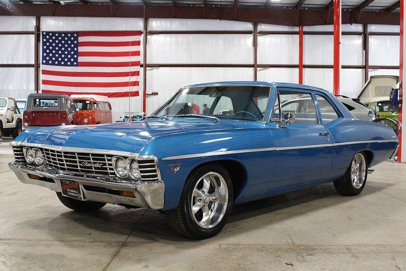 1967 Chevrolet Bel Air Gr Auto Gallery