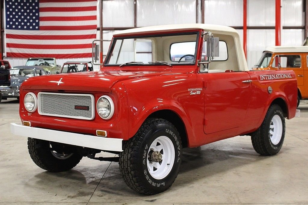 1966 International Scout Gr Auto Gallery