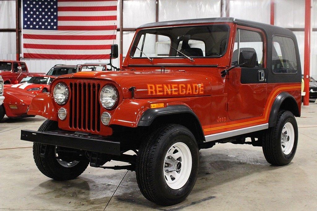 1985 jeep cj 7 renegade