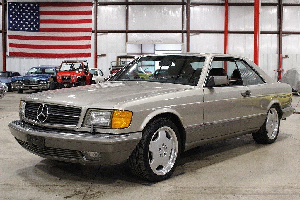 1986 mercedes benz 560sec